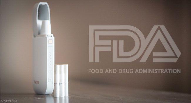 iQOS (PMI) avec le logo de la FDA