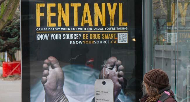 """""""Le fentanyl peut être mortel"""", campagne canadienne"""
