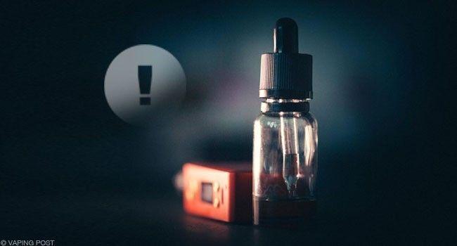 E-liquide le moins dangereux