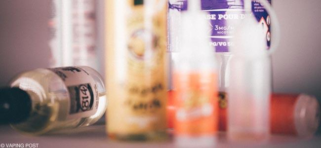Exemple de e-liquide DIY