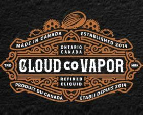 Cloud Co Vapor fabriqué en CA (CITY).