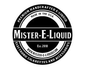 Mister E-liquid fabriqué en US (CITY).