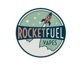 Rocket Fuel Vapes fabriqué en US (CITY).