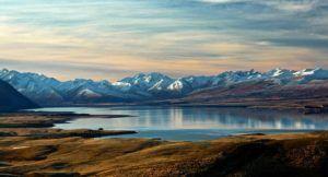 Paysage de Nouvelle Zélande