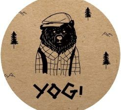 Yogi fabriqué en US (CITY).