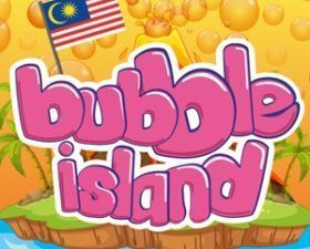 Bubble Island fabriqué en MY (CITY).