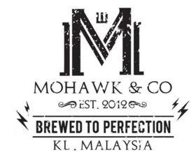 Mohawk & Co fabriqué en MY (CITY).