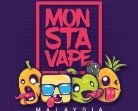 Monsta Vape fabriqué en MY (CITY).