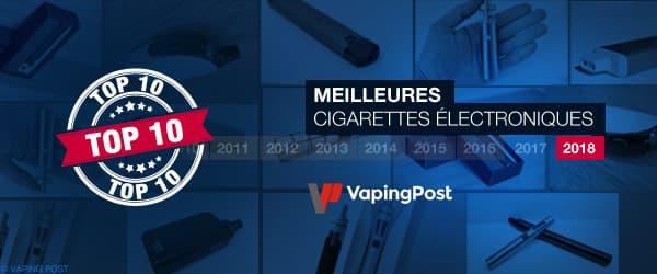 Les meilleures cigarettes électroniques en 2018