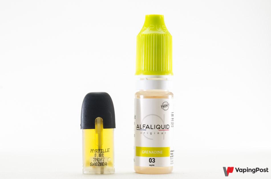 Choisissez un liquide proche de la saveur de la capsule
