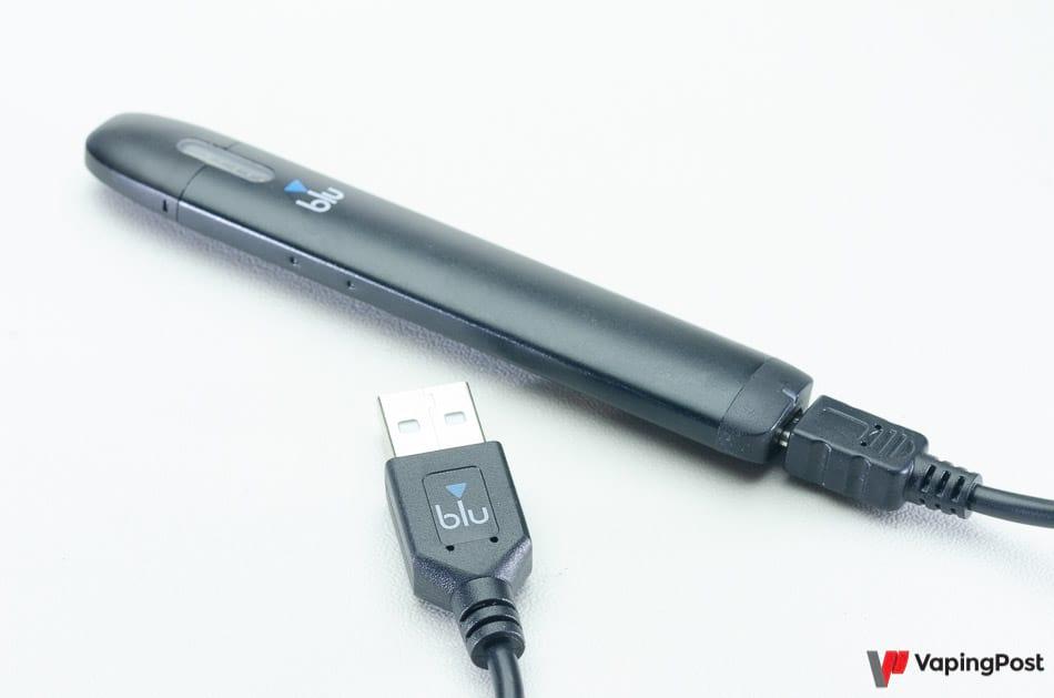 L'autonomie de la batterie Blu