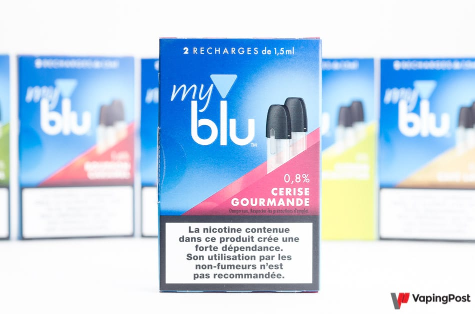 Recharge eliquide Blu Cerise Gourmande
