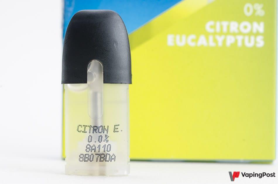 Capsule blu citron eucalyptus