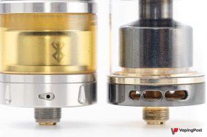 Atomiseur, inhalation directe et indirecte