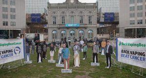 Europe : manifestation en faveur de la vape au Parlement Européen