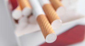 Photo d'un paquet de cigarettes