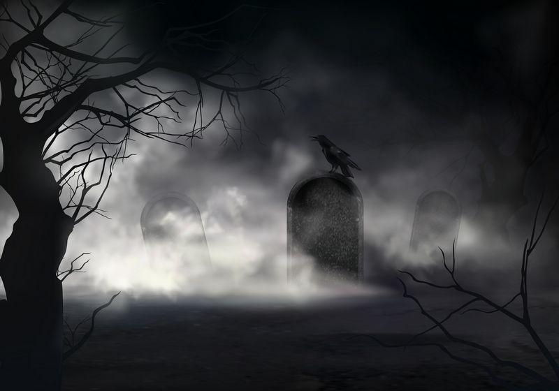 Une pierre tombale