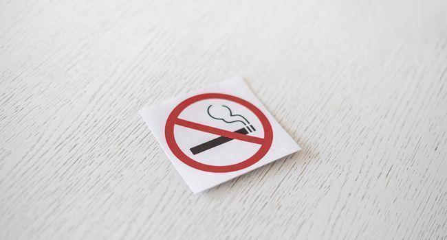 Panneau d'interdiction de fumer