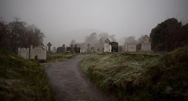 Photo d'un cimetière
