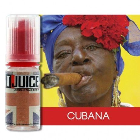 E liquide Cubana
